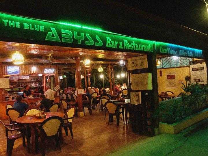 Blue Abyss Restaurant open Thursdays and Saturdays!